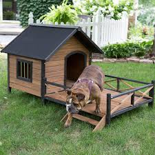 cool cheap houses amazon com large dog house lodge with porch deck kennels crates