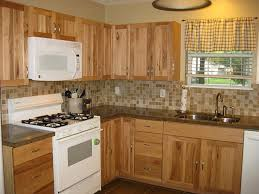 Rustic Hickory Kitchen Cabinets Kitchen Hickory Kitchen Cabinets With Granite Countertops Rustic