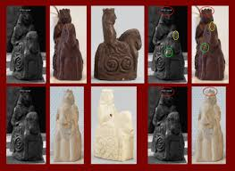 Ancient Chess Set Chess Pieces From Ingmar Bergman U0027s U201cthe Seventh Seal U201d Sold By