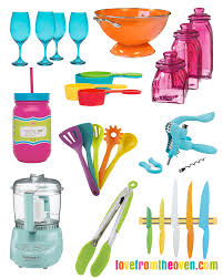 colorful kitchen accessories fun friday finds love from the oven