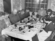 guests seated at the table at a dinner given by jefferson standard