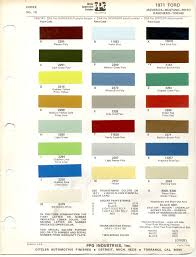 ferrari yellow paint code paint chips 1971 ford fleet