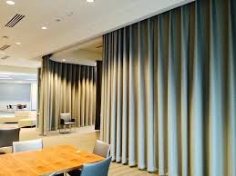 Panel Curtains Room Divider Panel Curtains Divider Rooms How To Divide A Large Living Room How