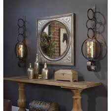 uttermost 13874 ireneus mirror in burnished silver homeclick com