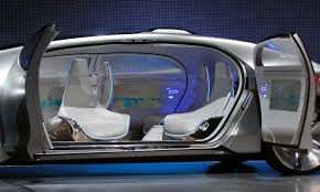 self driving mercedes benz f 015 can travel 1 100 km on single