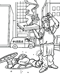 excellent inspiring free coloring pages teenage mutant ninja