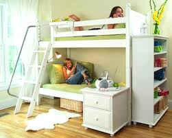 twin loft bed with desk dark walnut bunk bed with computer desk