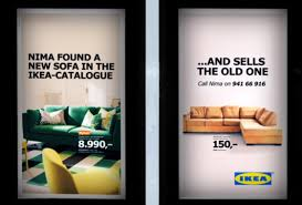 Second Hand Ikea Sofa Ad Of The Week Ikea Second Hand Campaign Creative Review