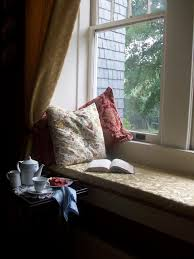 window reading nook comfy home book rain tea nook window reading nook coffee and wood