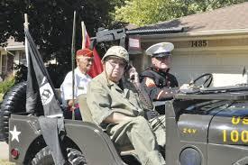 japanese military jeep fond farewell for leonard klenzak a u0027real marine u0027 local news