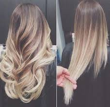 platinum hairstyles with some brown blonde ombre hair to charge your look with radiance medium brown