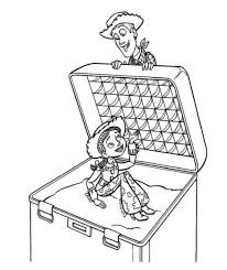 jessie woody sherif toy story coloring pages boys coloring