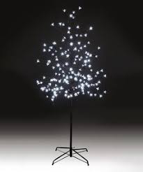 outdoor 1 8m illuminated white blossom tree 400 led potential