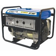yamaha ef5200fw generator 5200w continuous 25l long range fuel