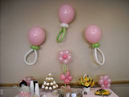 simple baby shower decoration ideas balloon decoration ideas for a