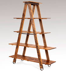 Charleston Forge Bakers Rack Wrought Iron Sawmill Ladder Etagere Charleston Forge