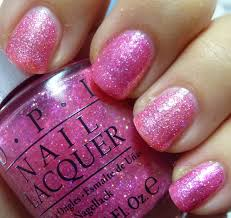 paillette a little nail polish journal pink glitter comparison