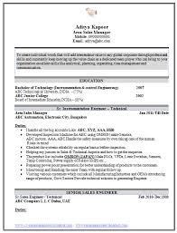 Electronics Engineer Resume Sample by Instrument Engineer Sample Resume 6 Control System Engineer Resume