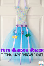 hair bow holders how to make a tutu bow holder with a bodice template with