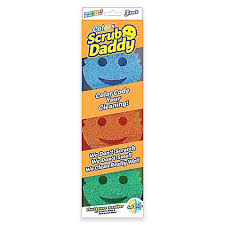 Bed Bath And Beyond Richmond Scrub Daddy 3 Piece Color Sponges Set Bed Bath U0026 Beyond