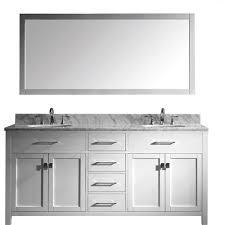 72 Double Bathroom Vanities by Virtu Usa Caroline 72