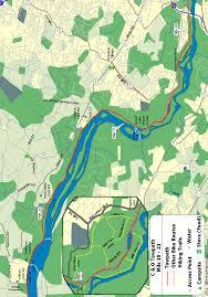 Washington Ferry Map The C U0026o Canal Bicycling Guide Print N Go