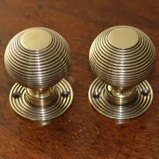 brass beehive door knobs the period ironmongerthe period ironmonger