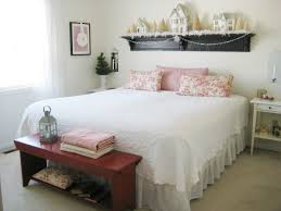 Bedroom Wall Shelf Decor Captivating Romantic Bedroom For Valentine Design Inspiration
