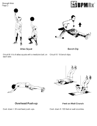 Bench Squat Deadlift Workout Circuit Training Workout Split Deadlifts And Bench Dips Bpm Rx