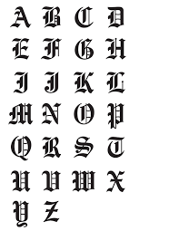 e letter in old english font 25 best ideas about old english