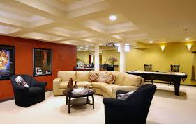 finished basement ideas houzz basement decoration