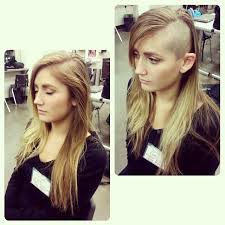 instagram pix of women shaved hair and waves 122 best sidecuts only images on pinterest hair cut hairdos and