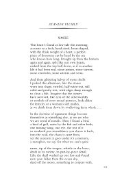 simile by stanley plumly poetry magazine