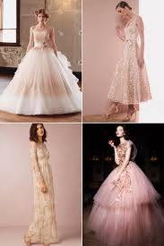 8 color trends for wedding reception dresses praise wedding