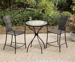 high top patio table and chairs patio dining sets patio world mosaic patio table patio chair set