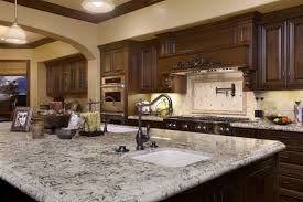 Ceramic Oil Rubbed Bronze Pull by Lowes Granite Countertops Simple Kitchen Area With Brown Marble
