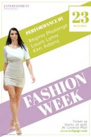 customizable design templates for fashion event postermywall