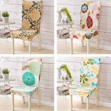 favorable universal polyester spandex dining chair covers