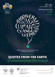 quotes from the earth an environmental festival