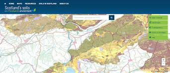 map zones map of soil texture in nitrate vulnerable zones scotland s soils