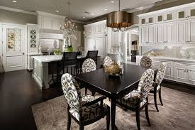 Dining Room Drum Chandelier Black Drum Chandelier For A Classic Black Dining Room With