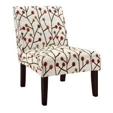Floral Accent Chair Dorel Armless Floral Accent Chair Fa164 The Home Depot