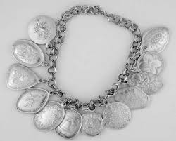 charm bracelet silver charms images Towle silver twelve days of christmas charms at replacements ltd jpg