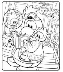 emejing club penguin coloring pages ninja images amazing