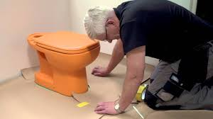 Can You Put Laminate Flooring Over Laminate Flooring How To Install Laminate Around A Toilet And Other Round Shapes