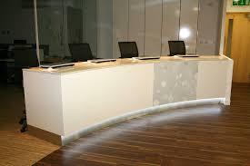 Standing Reception Desk by Chartwood Design Ltd Freestanding Furniture