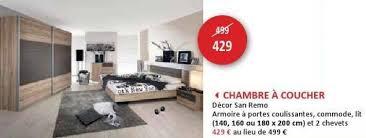 chambre a coucher promotion weba promotion chambre a coucher decor san remo produit maison