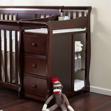 Cribs With Attached Changing Table by Amazon Com Storkcraft Calabria Crib N Changer Baby