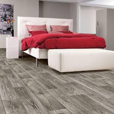 Vinyl Wood Sheet Flooring Trafficmaster Grey Weathered Oak Plank 13 2 Ft Wide Vinyl Sheet