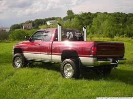 dodge cummins with stacks post your stacks dodge diesel diesel truck resource forums